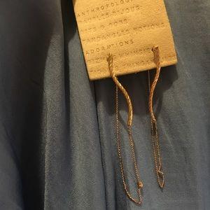NWT Anthropologie drop string earrings